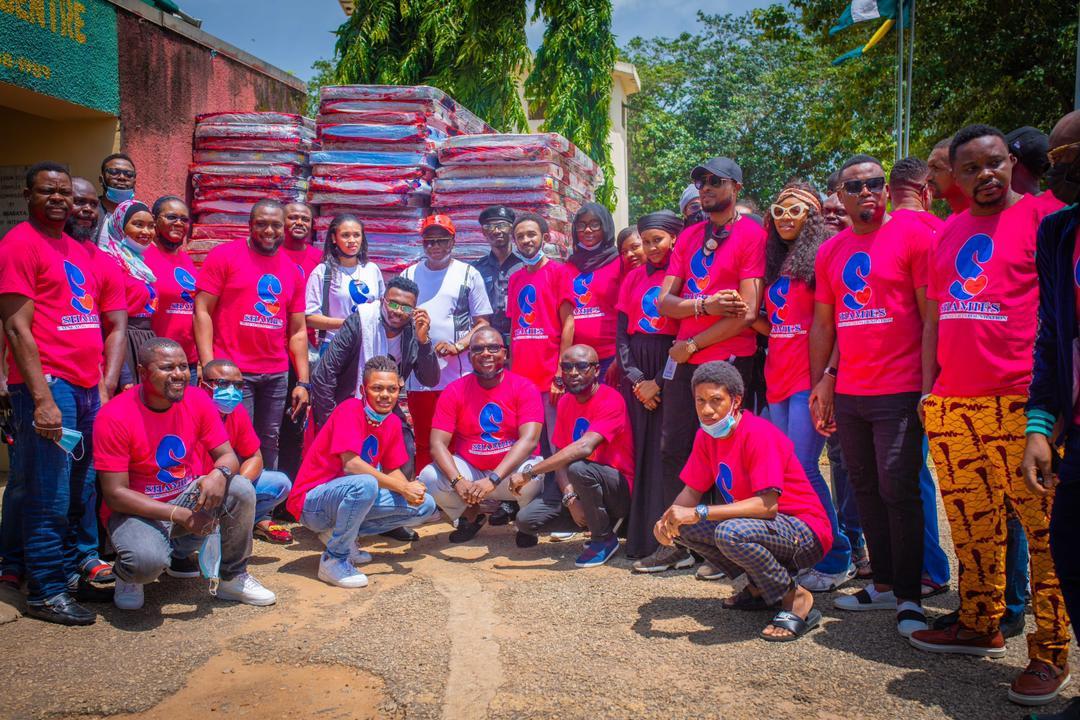 shamies foundation prison concert in nigeria