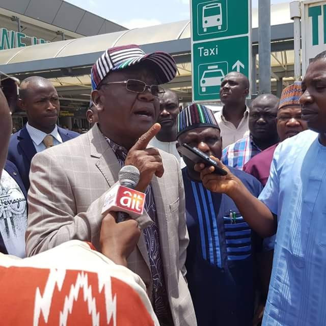 Buhari is the worst President when it comes to security ? Governor Ortom