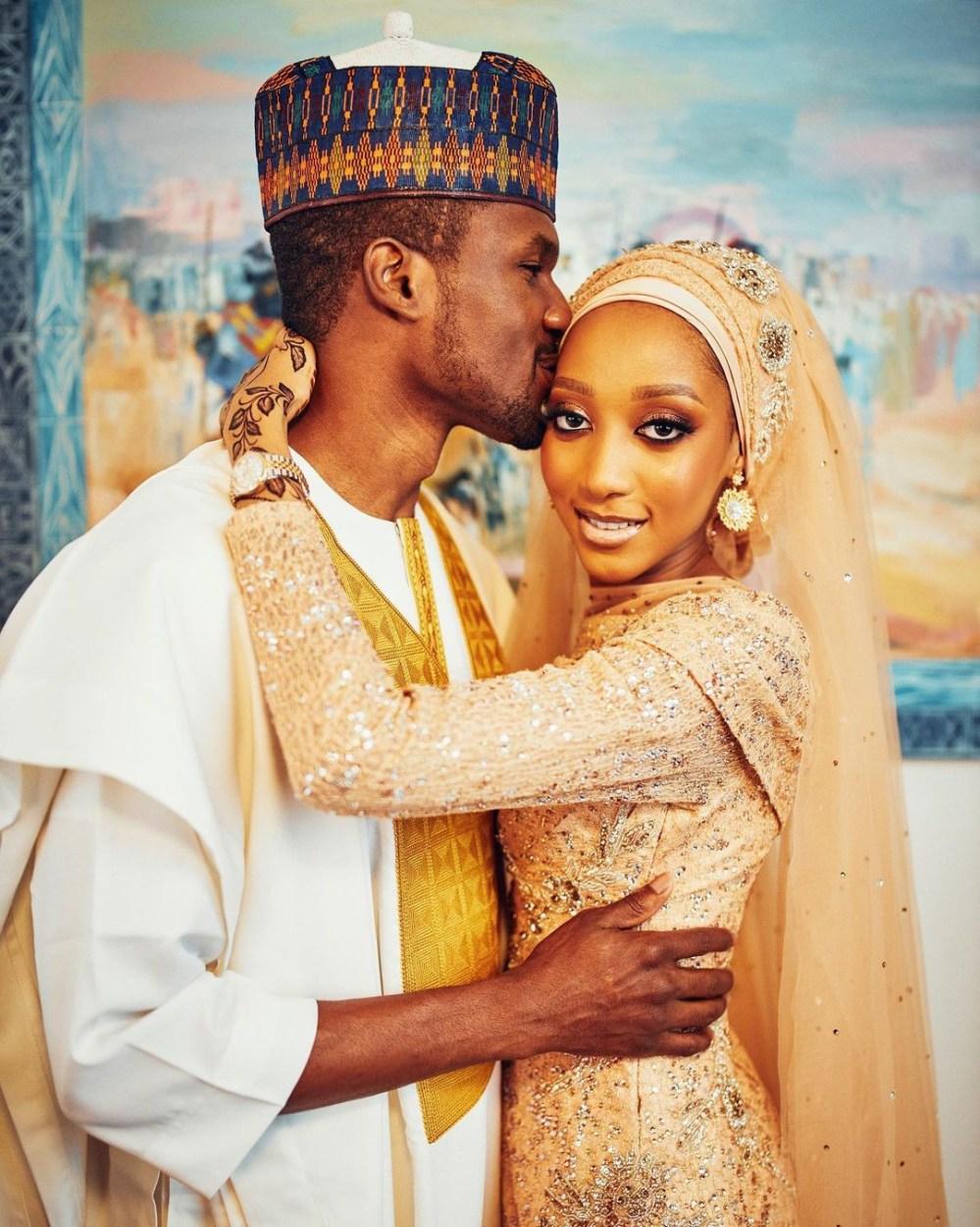 More photos of newlyweds, Yusuf and Zahra Buhari