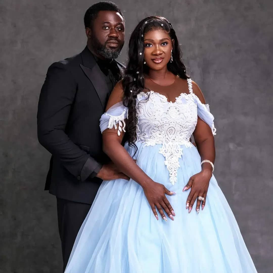 """""""I will walk this path with you over and over again""""- Actress Mercy Johnson Okojie tells her husband on the occasion their 10th wedding anniversary"""