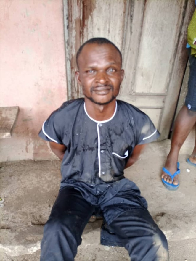 Man allegedly rapes, impregnates his teenage daughter in Delta (video)