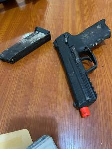 Two suspects arrested as Customs intercepts imported vehicle with pistol and fully loaded magazine at Tin Can Island Port