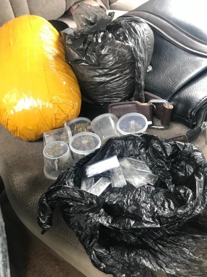 Police arrest suspected female drug dealer in Delta, recover large quantity of Indian hemp