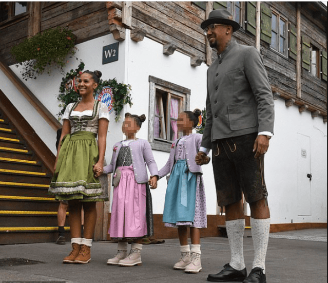 Footballer Jerome Boateng appears in court over accusation of domestic violence against his ex-partner and mother of his two children