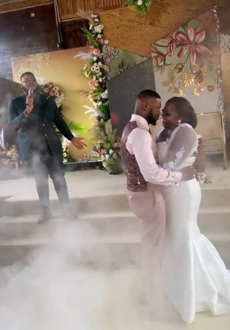 Stan Nze wedding Married