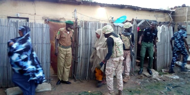 Local government chairman in Yobe leads arrest of ho*kers and alcohol sellers in his environment (photos)
