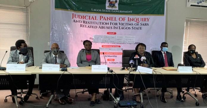 Lagos #EndSARS panel suspends sitting indefinitely