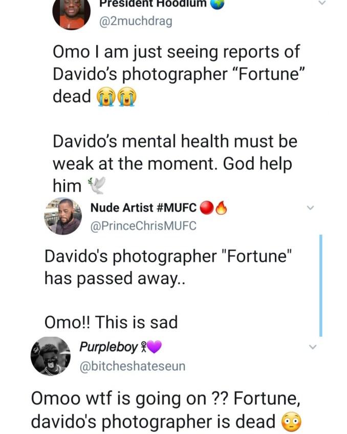 Nigerians express shock as Davido
