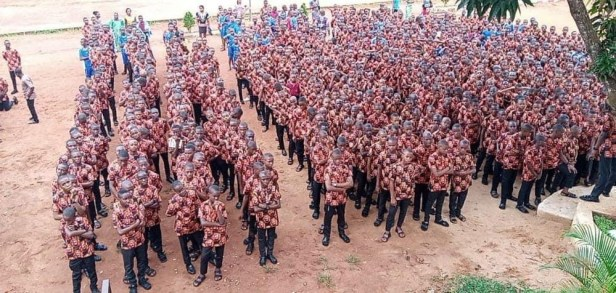 Anambra school students rock ?Isi-Agu? for first assembly (photos)