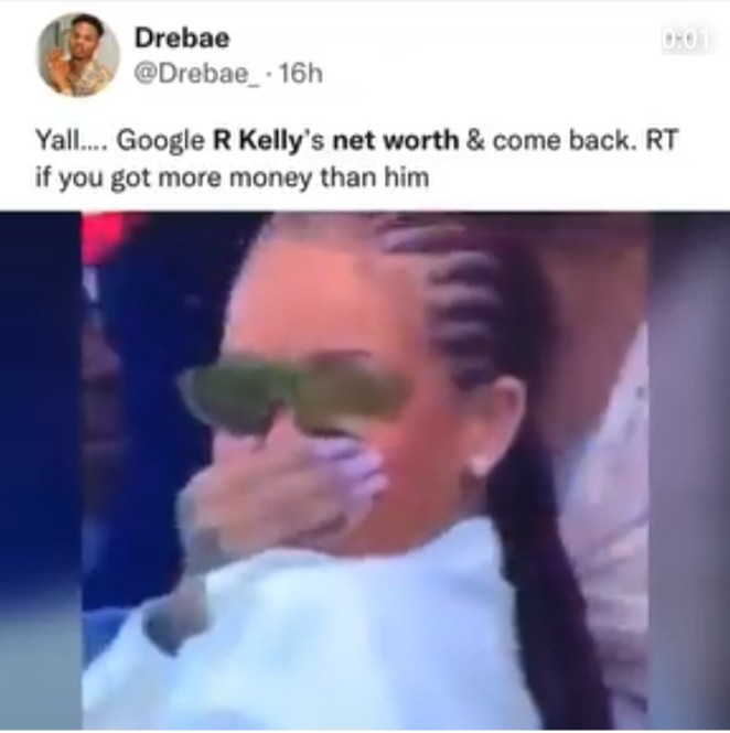 R. Kelly mocked online as its revealed that his network is