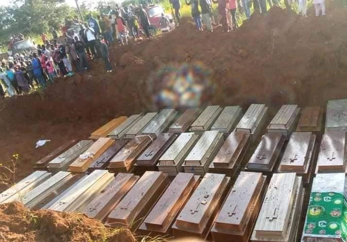 Woman mourns her little cousin killed by bandits alongside 37 others in Southern Kaduna