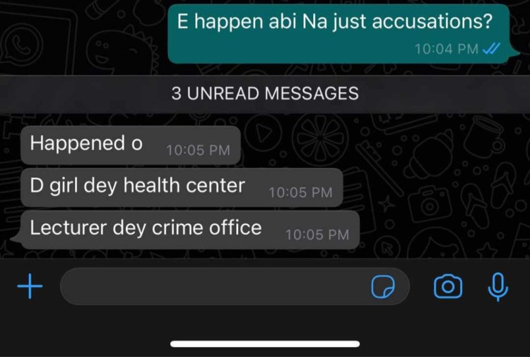 UNIBEN senior lecturer arrested by school security after he was accused of raping a female student in his office (video)