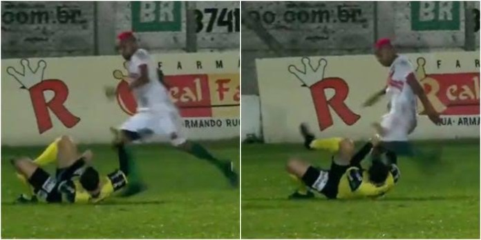 Brazilian footballer William Ribeiro now charged with attempted murder after kicking referee in the head