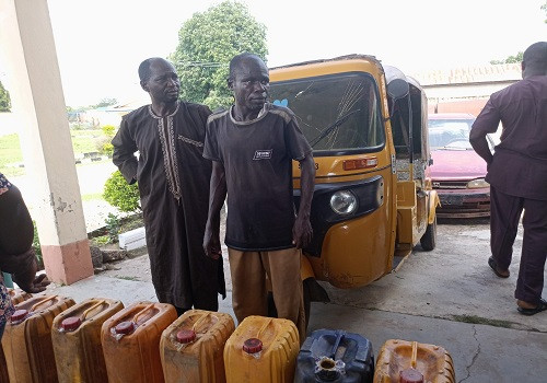 Police arrest suspected fuel supplier to bandits in Niger state