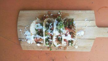 Shrimp Tacos at Margaritaville in Montego Bay, Jamaica