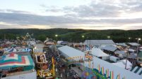 View from the Ferris Wheel, New Milford, PA