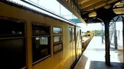 Yellow Train - Wax Museum - NYC