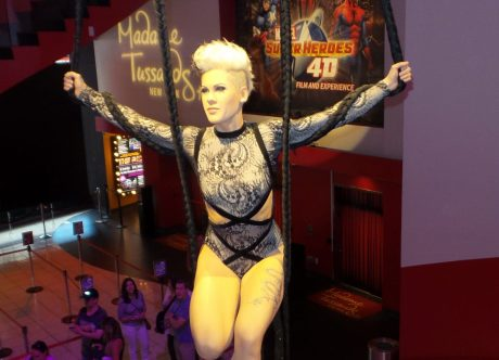 Pink - NYC - Wax Museum