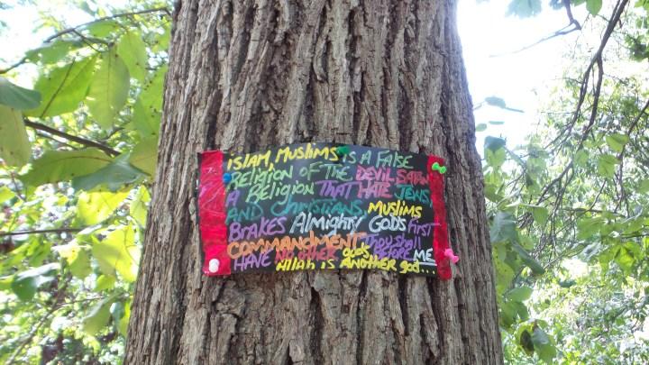islam muslim trees bushes hiking trails new york