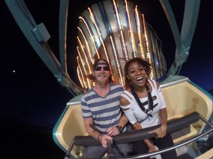 pharaoh county fair ride selfie