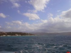 View from the Yacht in Montego Bay, Jamaica