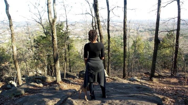 alexis chateau dreadlocks hiking trail travel jamaican woman with dreads