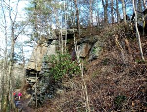 Hiking at Cloudland State Park