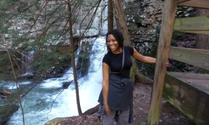 Hiking at Cloudland Canyon State Park - Alexis Chateau