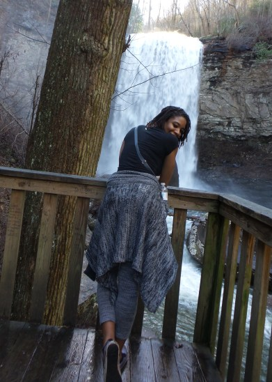 waterfall alexis chateau cloudland canyon state park jamaican blogger