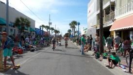 riding bikes bicycles saint patricks parade travel explore