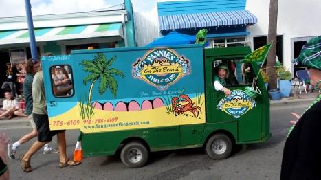 hippie irish parade savannah travel explore