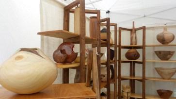 wooden art wood visual pottery dogwood festival atlanta