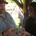 alexis chateau fears snake
