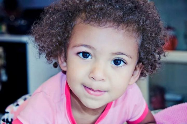 biracial baby girl multiracial