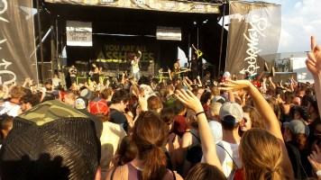 Falling in Reverse at Vans Warped Tour 2016