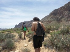 Alexis Chateau Trickster Hiking Red Rock Canyon