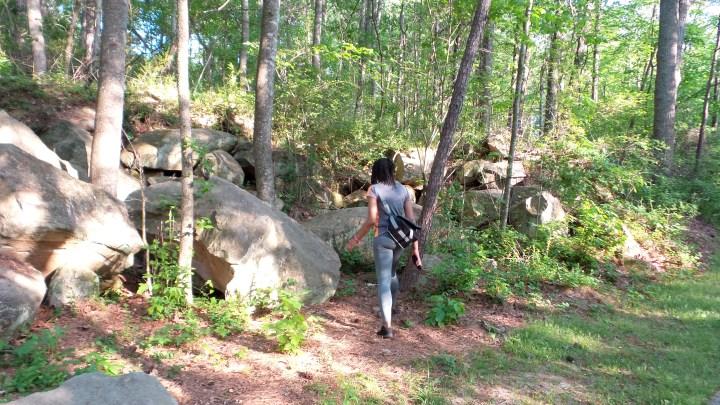 Hiking Jesters Creek Trail