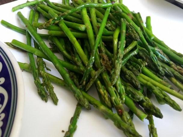 8 Grilled Asparagus
