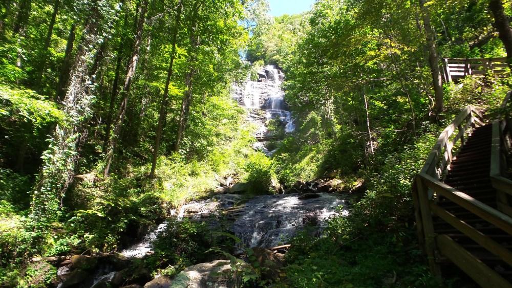 17 Amicalola Falls Halfway Up
