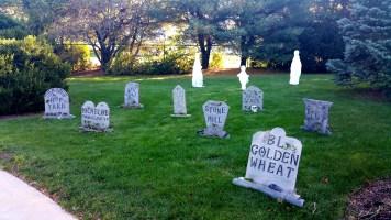 12 Anheuser-Busch Brewery Merrimack Halloween Graveyard