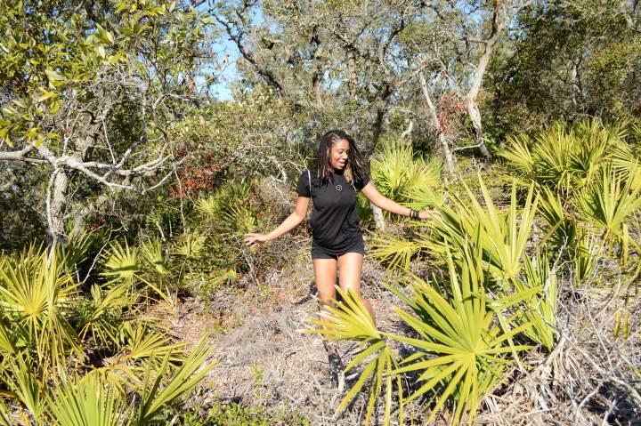 28 Alexis Chateau Hiking in Florida.JPG