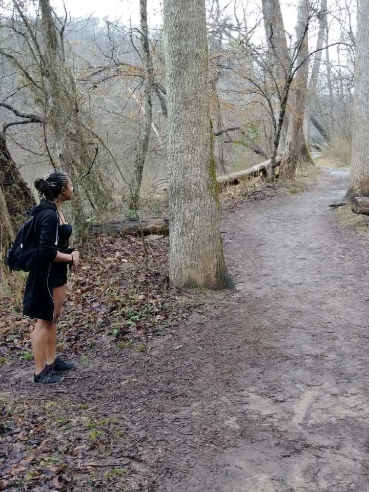 Hiking East Palisades in the Winter