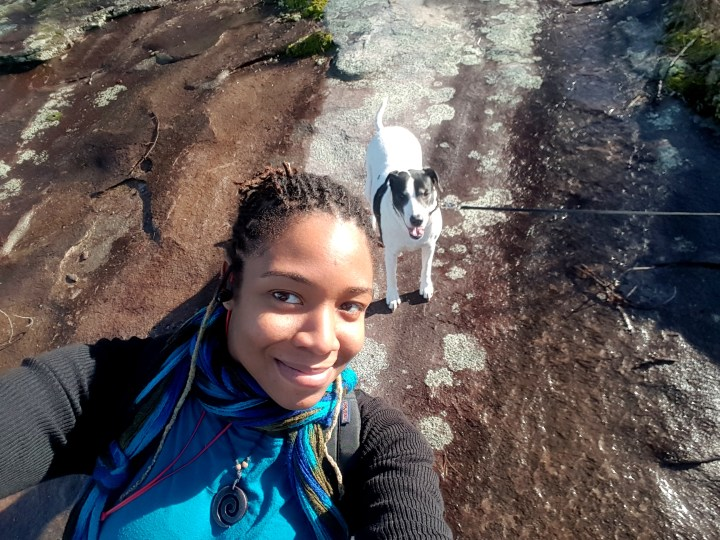 Hiking Up Stone Mountain, GA