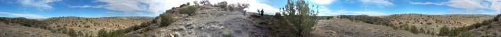 25 Thompson Viewing Area Utah Panoramic Desert Shot Tristan O'Bryan