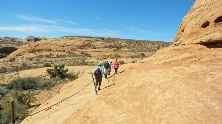 22 Corona Arches Hiking Trail Utah