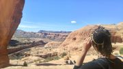 36.2 Alexis Chateau Corona Arches Hiking Trail Utah