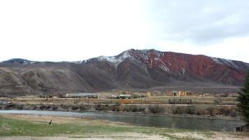 4.25 View Outside Iron Mountain Hot Springs Colorado