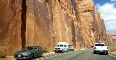 46 Moab Roadside Climbing