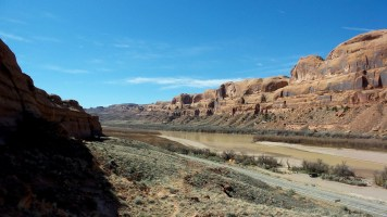 6 View from Corona Arches Moab Utah Hiking Trail