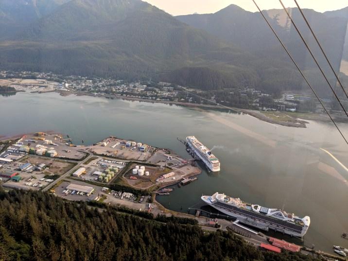01 Juneau Alaska from Mount Roberts Tramway